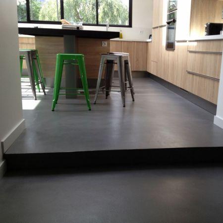 1000 id es sur le th me plancher beton sur pinterest for Beton cire sol cuisine