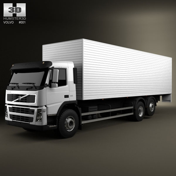 2010 Volvo S80 For Sale: Volvo Truck 6×2 Delivery 3d Model From Humster3d.com