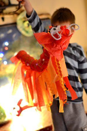 Nouvel an chinois: créer et jouer avec les dragons | Les Ptits Mwana