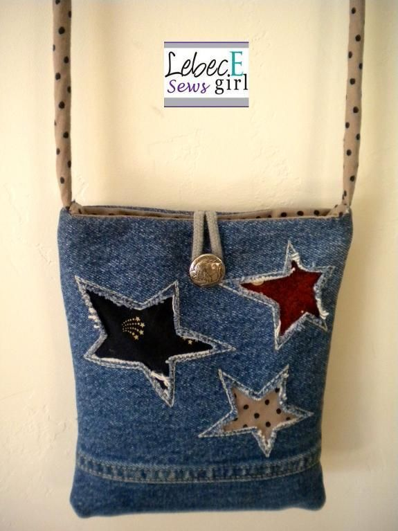 Looking for sewing project inspiration? Check out Fourth of July Bag by member Lebec Egirl. – via @Craftsy