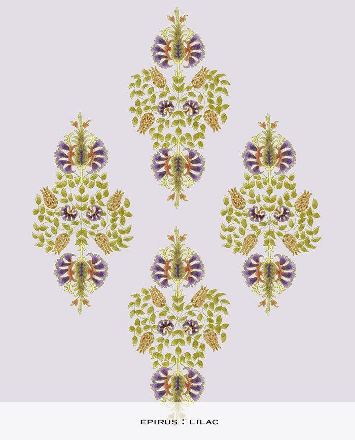 Epirus Print : lilac ferranstore
