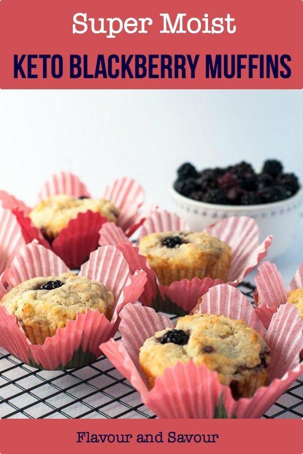 Ultra Moist Keto Blackberry Muffins Recipe Dairy Free Blackberry Muffin Dairy Free Keto Recipes