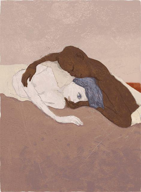 Toshihiko Okuya, study #039 on ArtStack #toshihiko-okuya #art