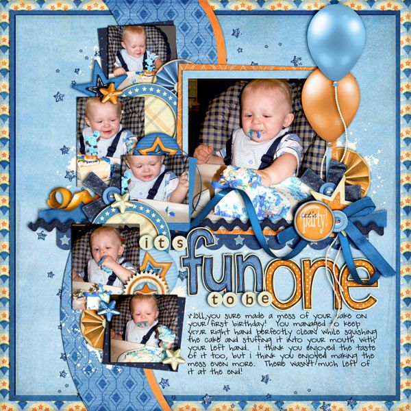 It's Fun to Be One - Scrapbook.com ✿Join 1,700 others and Follow the Scrapbook Pages board. Visit GrannyEnchanted.Com for thousands of digital scrapbook freebies. ✿ Scrapbook Pages Board URL: https://www.pinterest.com/sherylcsjohnson/scrapbook-pages/