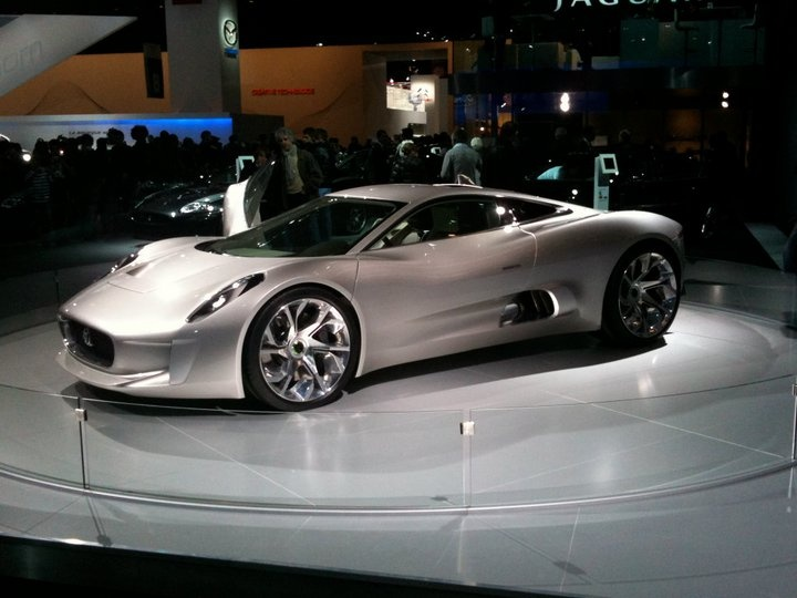 Jaguar CX 75 Concept