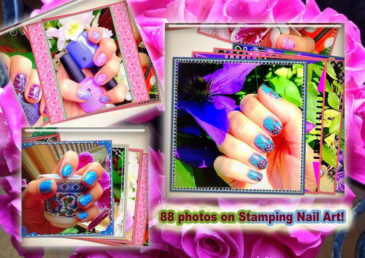 88 фото дизайна ногтей Стемпинг на Гель-Лак / 88 photos on Stamping Nail... #маникюр #гельлак #CND #Shellac #стемпинг #stamping #konad #moylondon #ногти #nails #cici&sisi