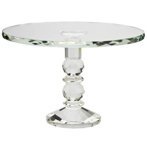 Cake Stand With Crystal Droplets