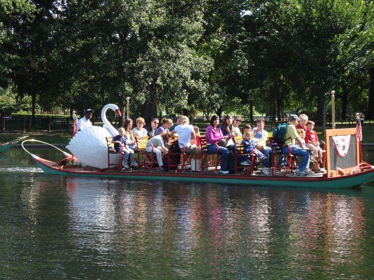 swan boats public garden boston
