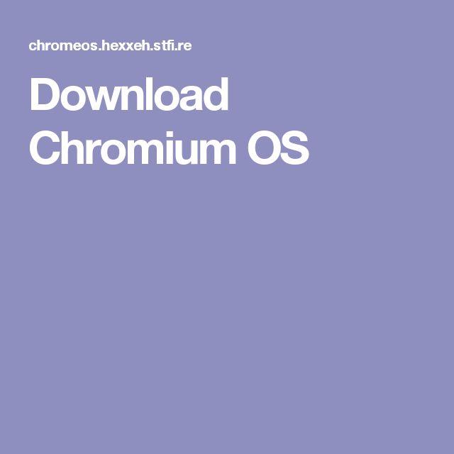 Download Chromium OS