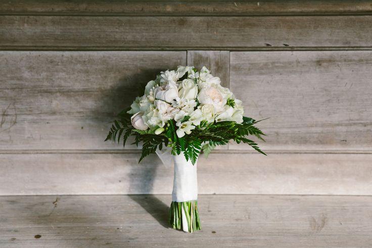 Beautiful white wedding bouquet. Image: Cavanagh Photography http://cavanaghphotography.com.au