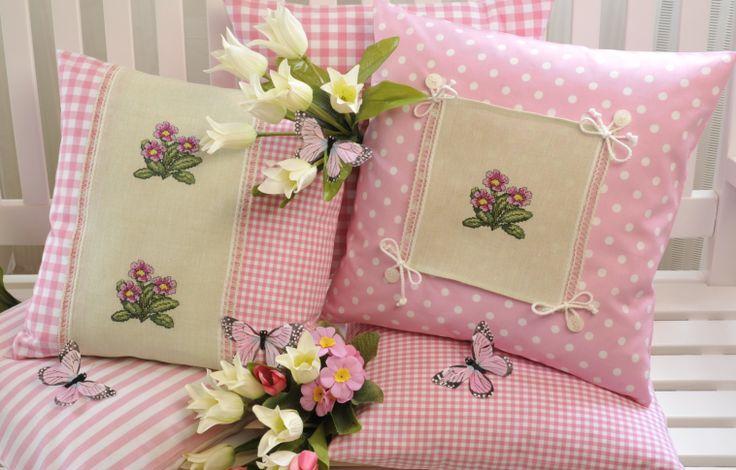 Wunderschöne Kissen Design : Gerlinde Gebert Shop: www.gebert-handarbeiten.de