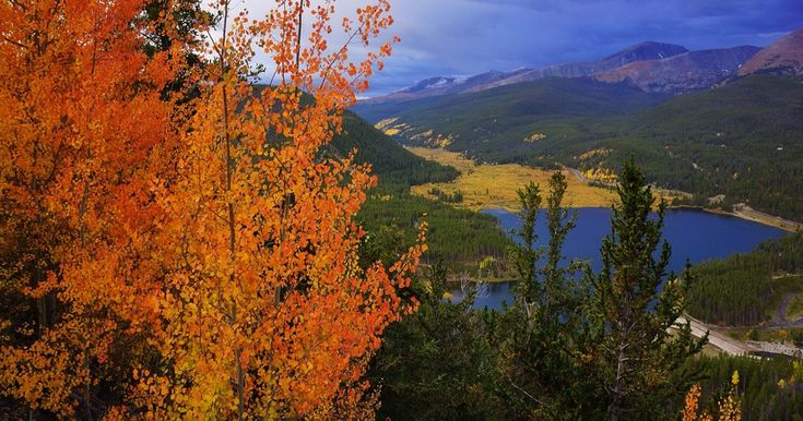 Boreas Pass is a scenic route that lies between Como (north of Fairplay on Hwy 285) and Breckenridge.