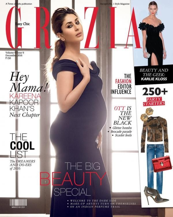 Sexy Mommy! Kareena Kapoor Khan is on the cover of Grazia and we can't take our eyes off her