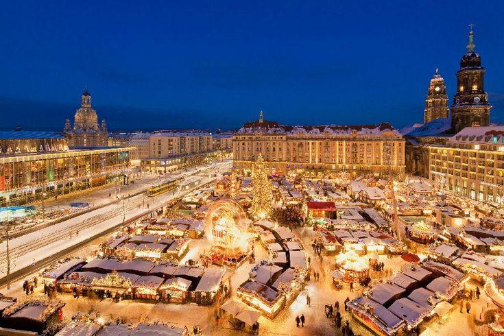 Le marché de Noël de Dresde