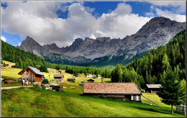 Dolomites,Valle San Nicolò