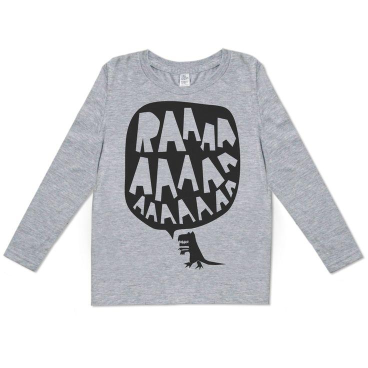 Image of RAAAAA Long Sleeved T-shirt