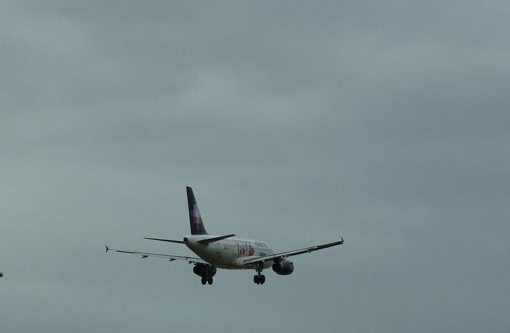 """Volaris Airlines Special Livery """"Melissa"""" Airbus A319-132 jet just seconds from landing at LAX"""