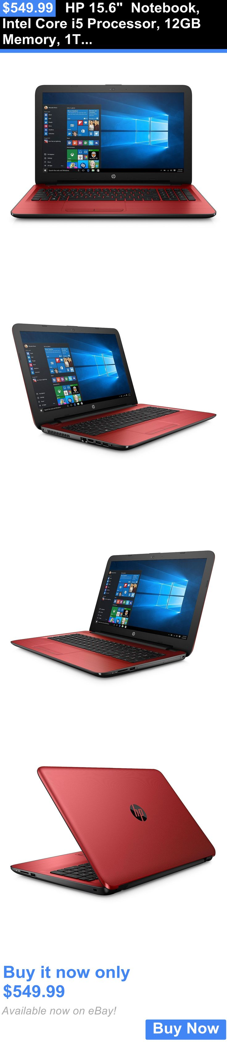general for sale: Hp 15.6 Notebook, Intel Core I5 Processor, 12Gb Memory, 1Tb Hdd (15-Ay177cl) BUY IT NOW ONLY: $549.99