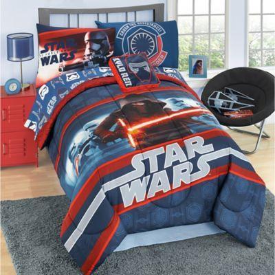 Star Wars™ Episode 7 Reversible Comforter Set - BedBathandBeyond.com