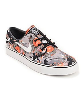 Buy The Nike SB Zoom Stefan Janoski Multi-Color, Black and Mandarin Pack : Available at Zumiez