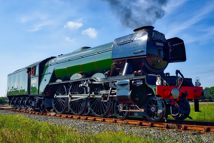 The #FlyingScotsman at Valley, Anglesey