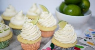 Margarita Cupcakes by Trophy Cupcakes | Cupcakes & Cashmere - includes Tequila Lime Buttercream recipe