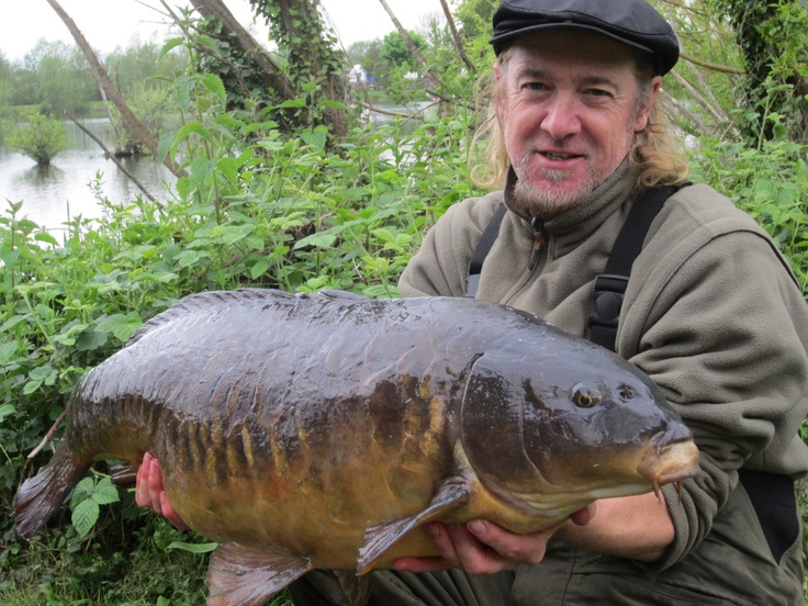 Iron Maiden Guitarist Adrian Smith managed to pop out this 32lb mirror just before heading out to the states on tour