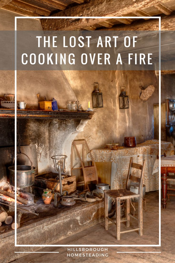 Learn how to cook over an open fire like the pioneers did.