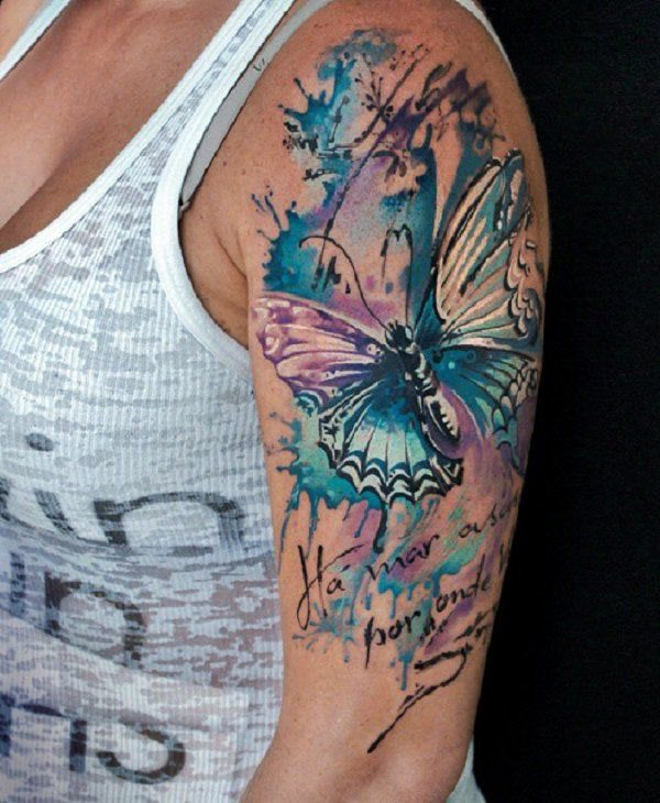 Best 25 butterfly sleeve tattoo ideas on pinterest half for Butterfly tattoo arm designs