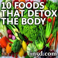 There are many techniques you can follow and supplements you can take to detox your body. One in particular is to eat detoxifying foods.