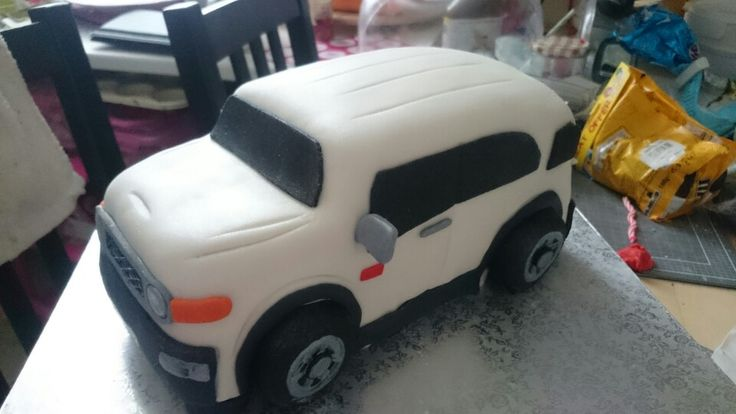 Fj cruiser chocolate cake