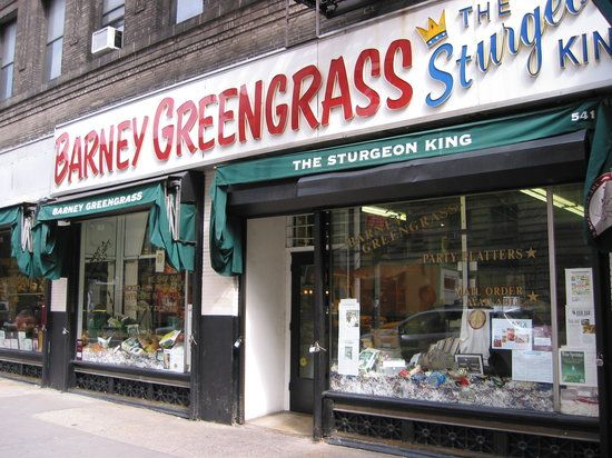 Barney Greengrass The Sturgeon King New York City Recommended By Anthony Bourdain