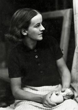 Barbara Hepworth (1903 – 1975)  British modernist sculptor
