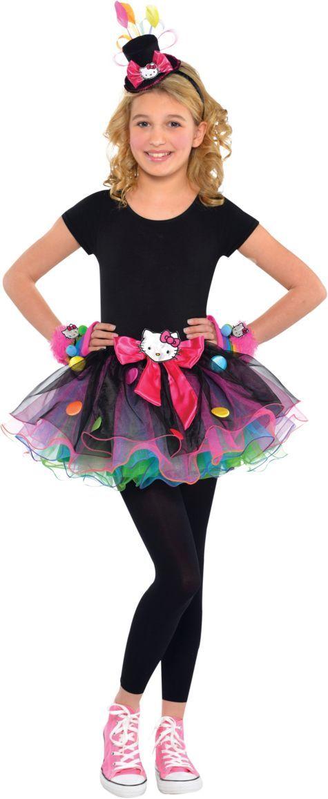 girls sweet hello kitty costume party city - Halloween Hello Kitty Costume