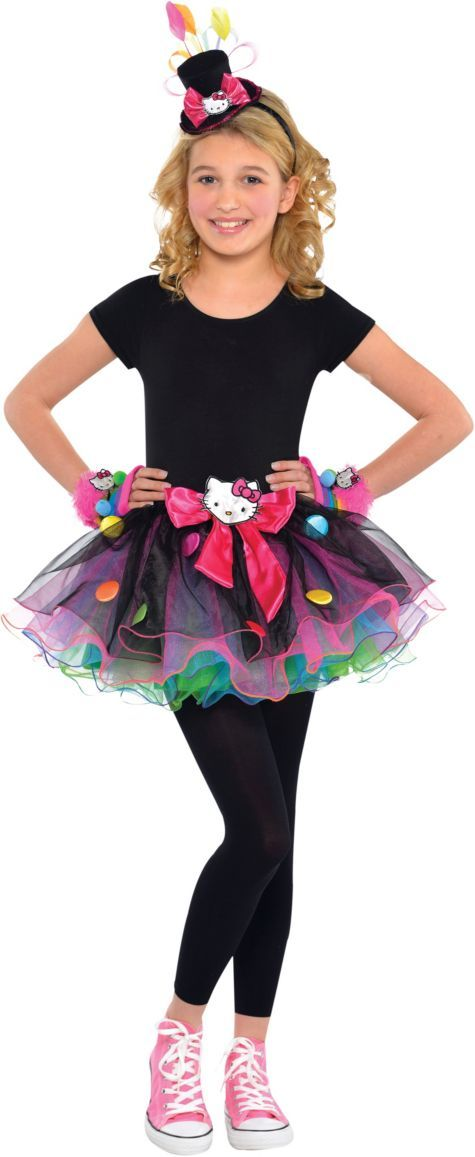 Girls Sweet Hello Kitty Costume - Party City