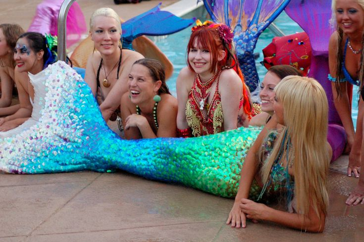 Mermaids in Las Vegas:
