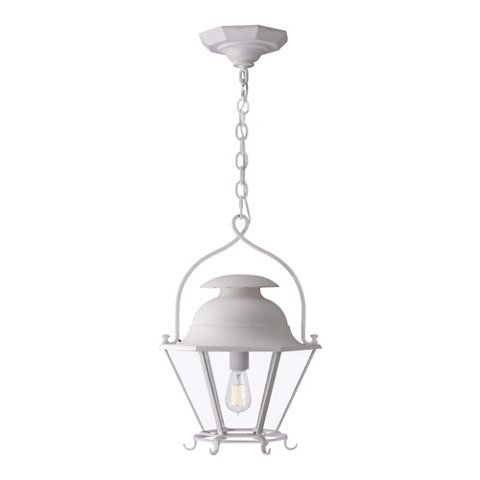 Cranbrook Small Hanging Lantern in White - Ceiling Fixtures - Lighting - Products - Ralph Lauren Home - RalphLaurenHome.com - Kitchen?