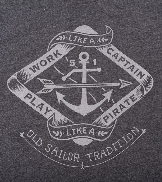 Work like a captain Tshirt