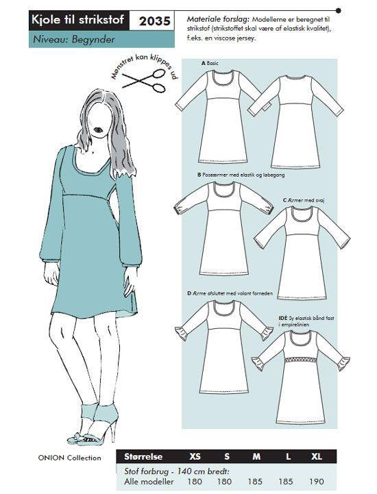 Schnittmuster jerseykleid - unbedingt ausprobieren!