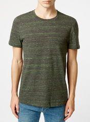 BLACK AND NEON SPACEDYE T-Shirt