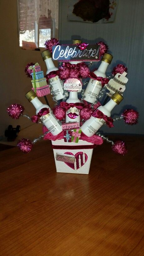 17 Best Images About Unique Alcohol Candy Bouquets On