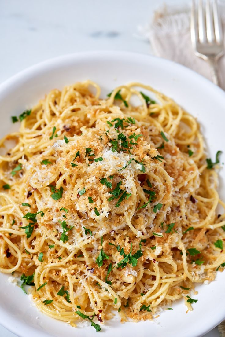 Recipe: Brown Butter Parmesan Pasta — Quick and Easy Vegetarian Dinners