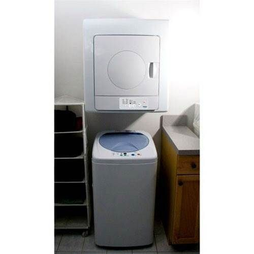 Samsung Washer And Dryer Combo Haier Electric 2.6 Cu. Ft. 115 Volt Portable Dryer - White ...