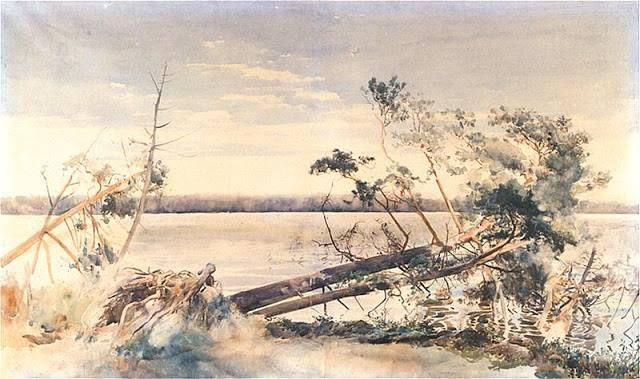 Julian Fałat - Świteź, 1888