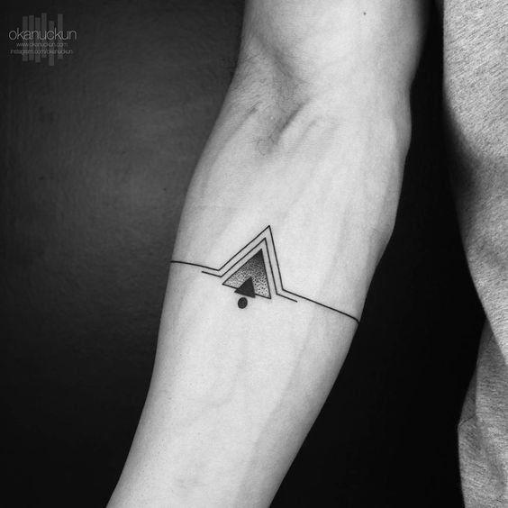 Tattoo • Triangles by Okanuckun •