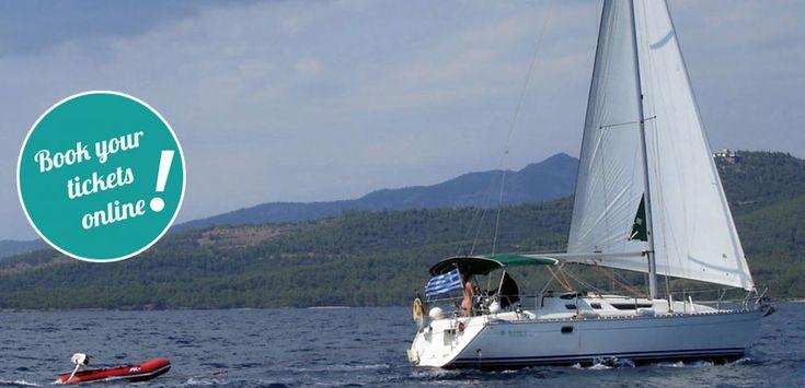 Day sailing west Sithonia – islands – secret coves (Neos Marmaras)