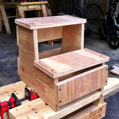 Two Step Stool Plans Woodworking Projects Amp Plans