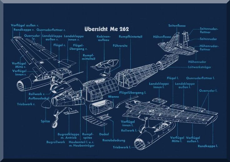 Messerschmitt Me-262 Aircraft Illustrated Parts Catalog Manual , (German Language ) - Me-262 Ersatzteilliste, 1943, - Aircraft Reports - Manuals Aircraft Helicopter Engines Propellers Blueprints Publications