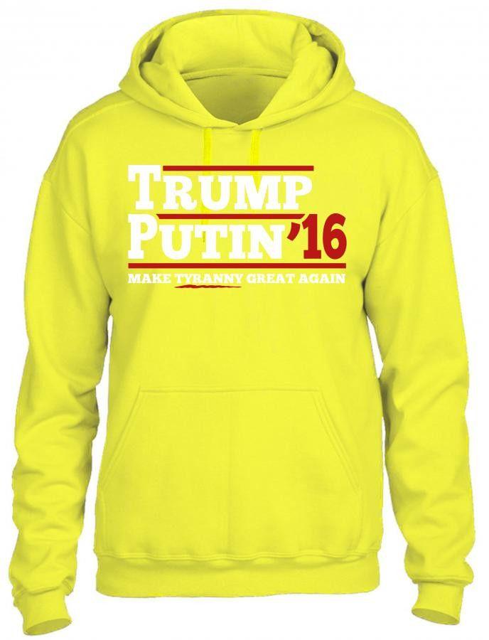 Trump Putin 2016 HOODIE