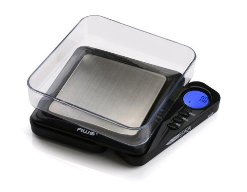American Weigh Scales Black Blade Digital Pocket Scale, BL-1KG-BLK 1000 by 0.1 G: Mother's Day Gift